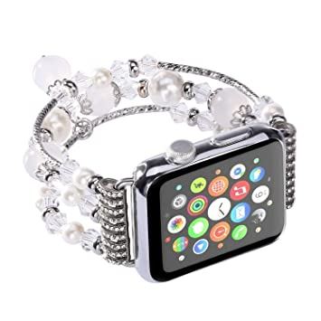 sitio web para descuento estilo distintivo comprar real Kaing - Correa para Apple Watch, 38 mm/42 mm, iWatch ...