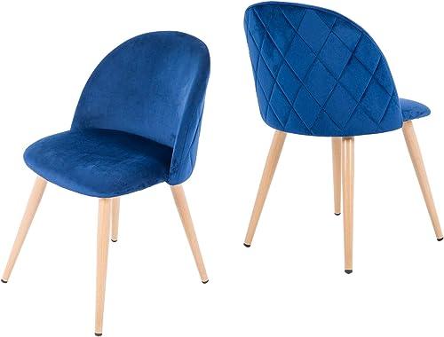 NOBPEINT Dining Leisure Chair Velvet Cushion Seat
