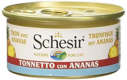 Schesir Gato 75 gr atún con piña