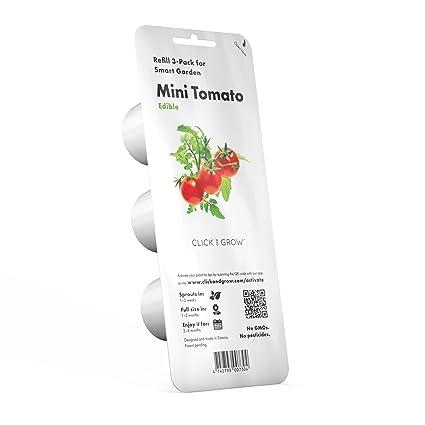 Amazon com : Click and Grow Smart Garden Mini Tomato Plant