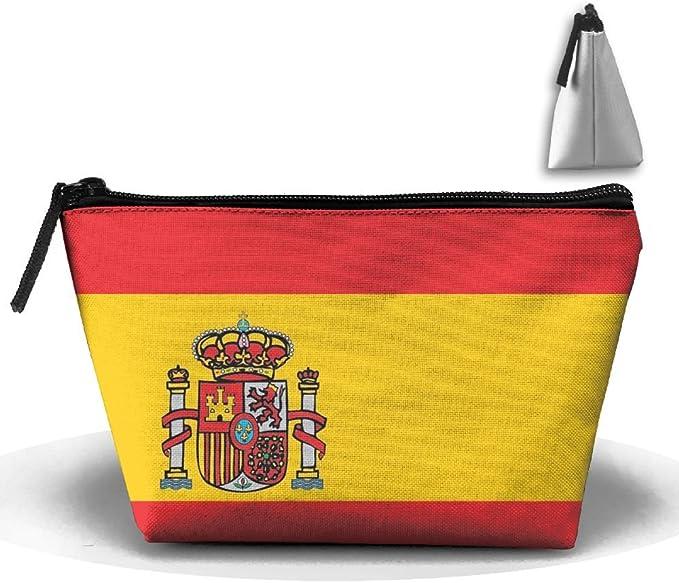 Chion Bolso de Mano con Bandera de España, Bolsa de Almacenamiento Portátil: Amazon.es: Hogar