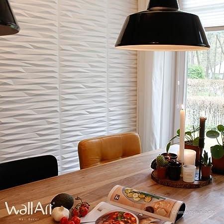 WallArt 3D Wall Panels Valeria 12 pcs GA-WA24: Amazon co uk: Kitchen