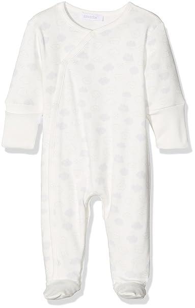 Absorba Playwear, Pelele Unisex bebé, Beige (Ecru), 9 Mes