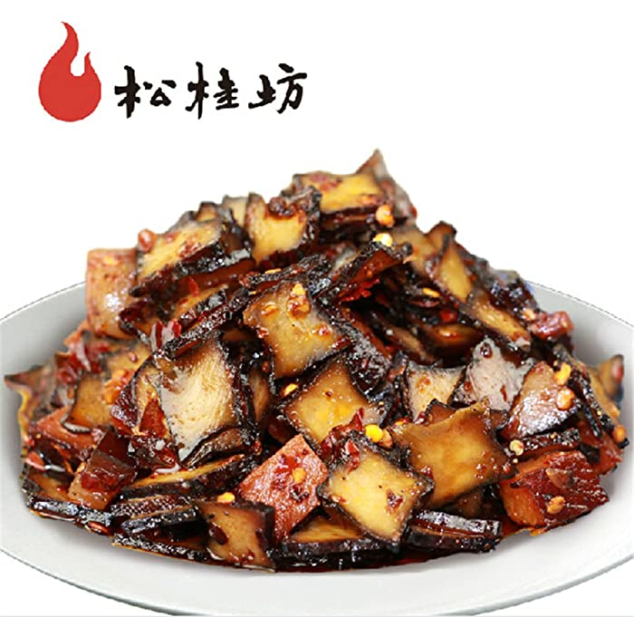 Qyz@ Chinese Leisure Snack Food:hunan Special Spicy Hot Bean Curd Cake(200g)