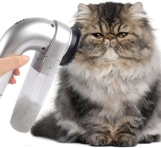 UxradG Quitapelo eléctrico para mascotas, aspiradora, perro, gato: Amazon.es: Productos para mascotas