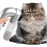 GEZICHTA Aspirador de Pelo para Mascotas, Limpiador de Pelo Eléctrico para Mascotas, Limpiador de