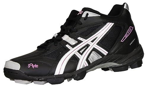 Asics Zapatilla para lacrosse Gel-V Cut para Mujer 9001 Art. P956Y: Amazon.es: Zapatos y complementos