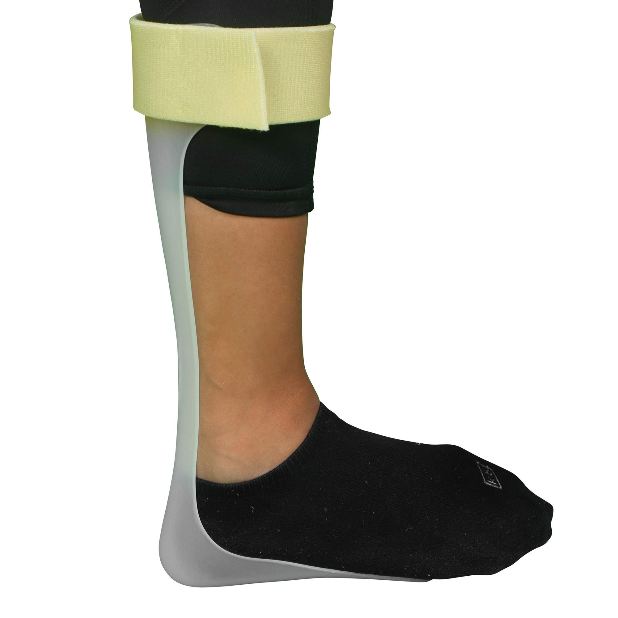 Ankle Foot Orthosis Support - AFO - Drop Foot Support Splint Left, Medium by MARS WELLNESS