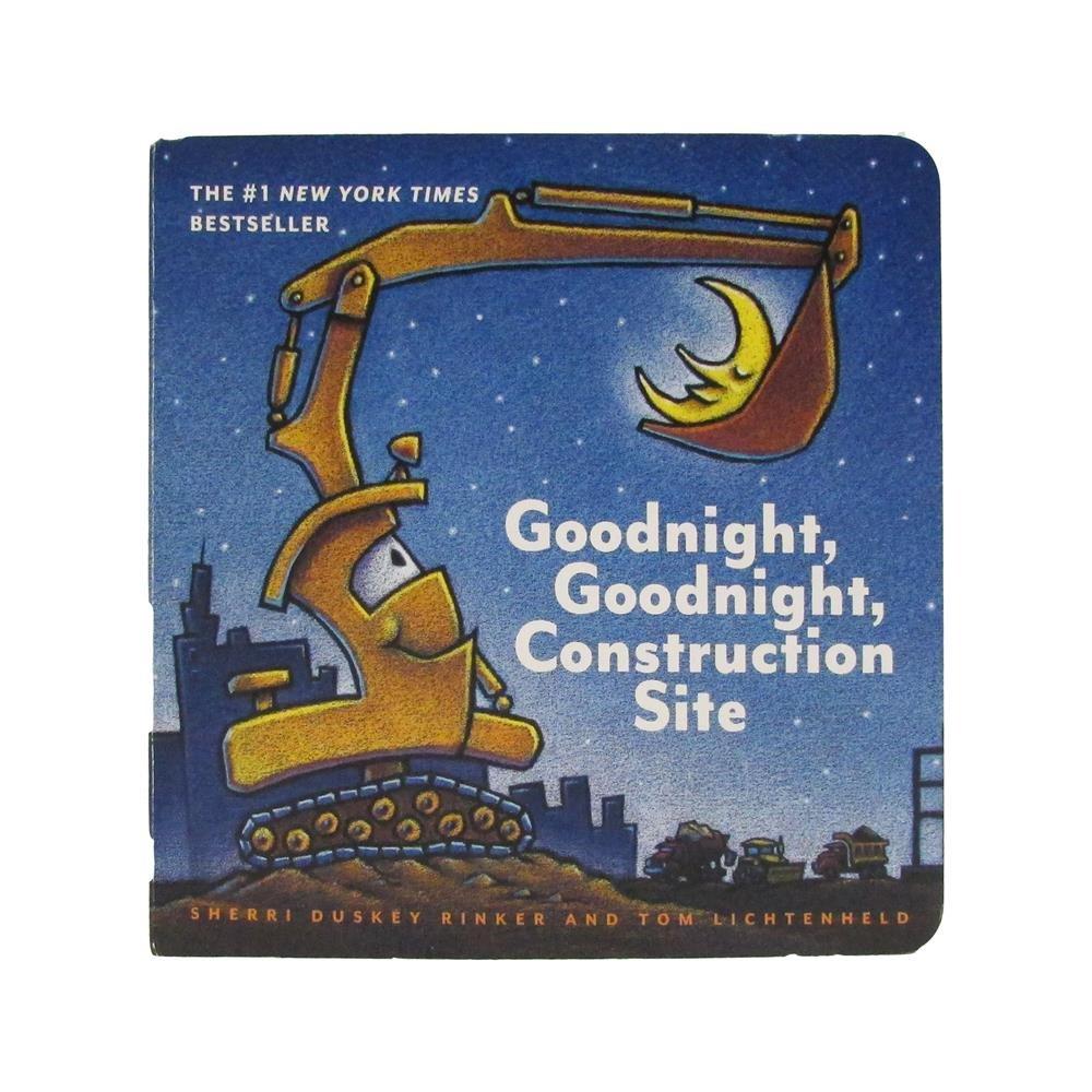 Goodnight Construction Site Gngncs Board Book Childrens Basic Skills Development Toys