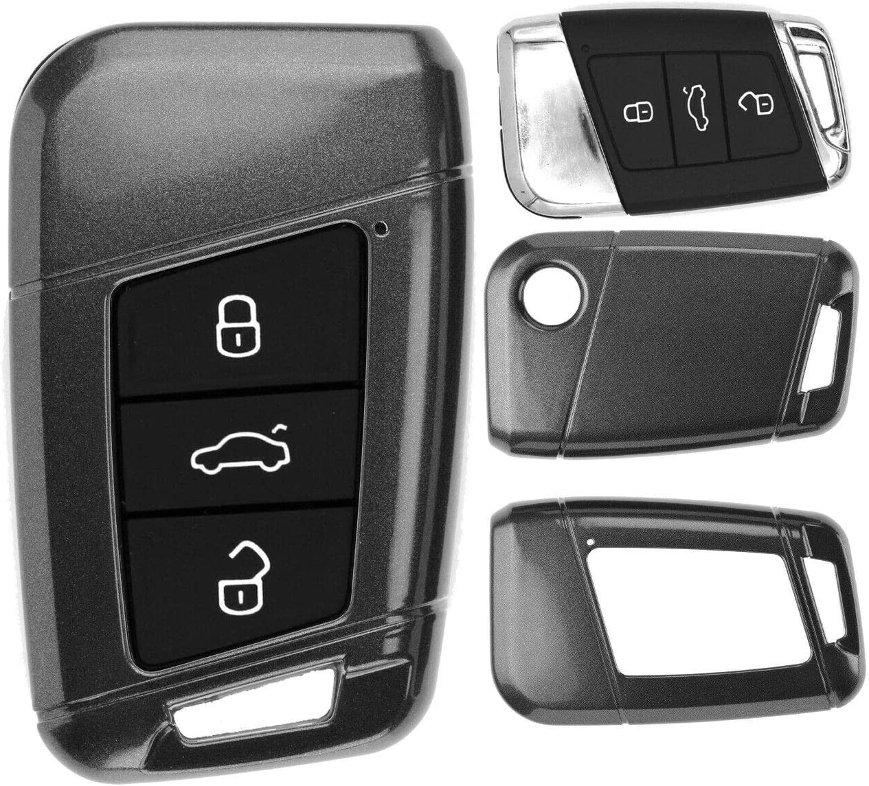 Keyless Auto Schlüssel Cover Hülle Smartkey Hartschale Elektronik
