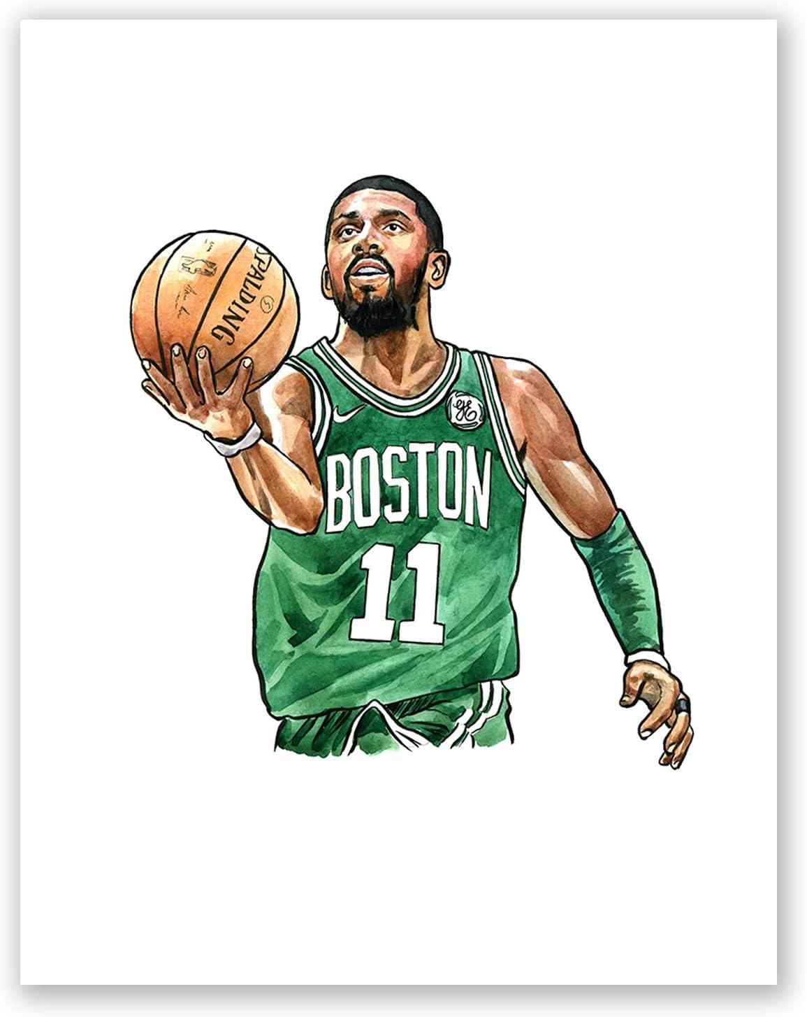 Amazon.de: AtoZStudio A48 Kyrie Irving Poster // Art Poprenn // Basketball  Legends // Bild