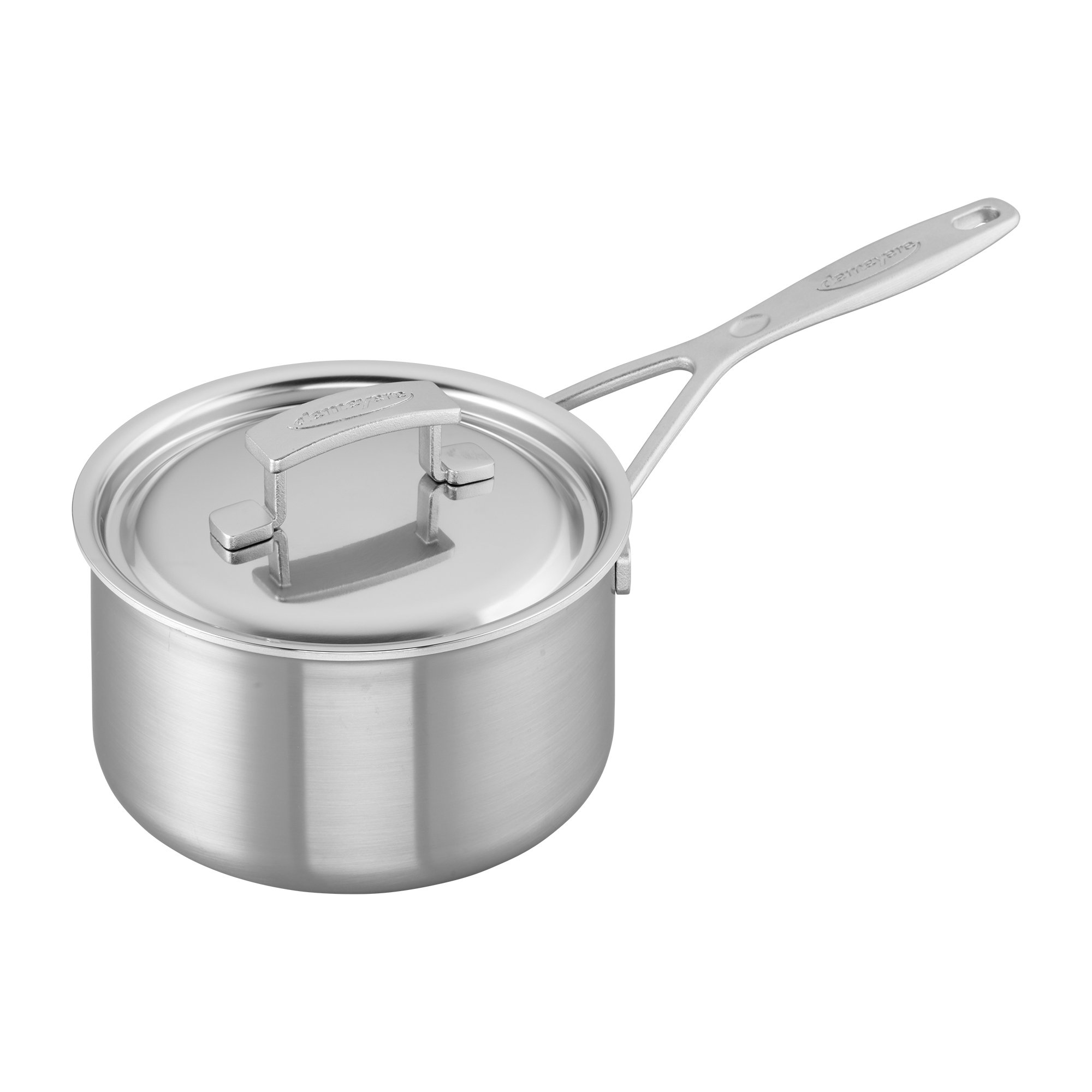 Demeyere Industry 5-Ply 2-qt Stainless Steel Saucepan