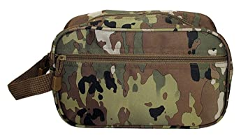 c45a13819739 OCP Camo Tactical Overnight Toiletry Bag with Zippered Front Pocket