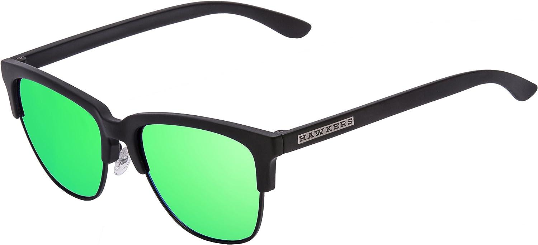 HAWKERS · CLASSIC · Carbon Black · Emerald · Gafas de sol para ...