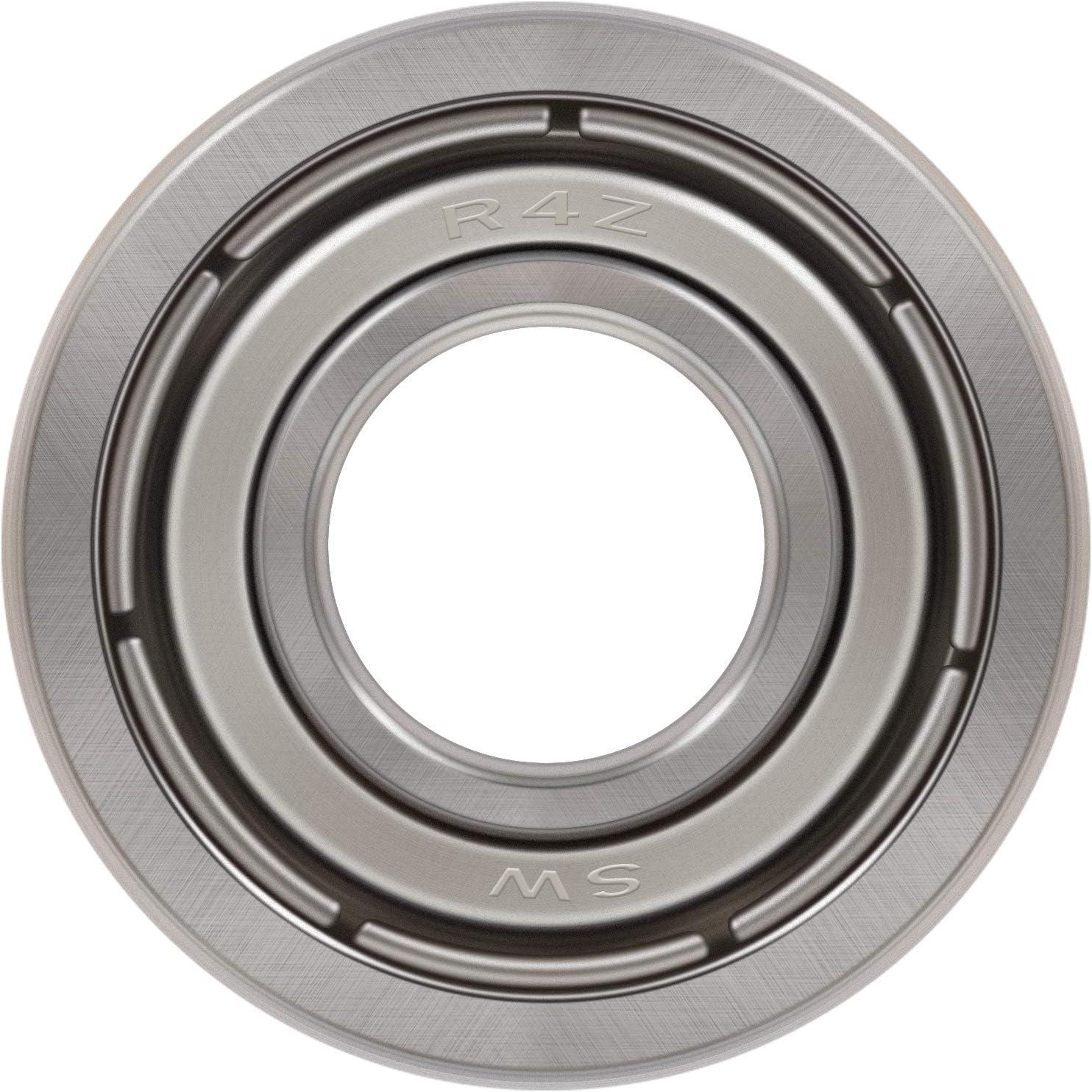 Bonbo 10Pcs R4-ZZ Bearings 1//4 x 5//8 x 10//51 inch,Double Metal Shielded,Deep Groove Ball Bearings for Electric Motor Appliances