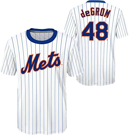 Jacob deGrom New York Mets MLB Boys Youth 8-20 Player Jersey