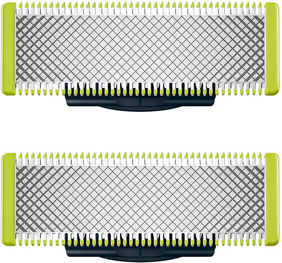 Philips Norelco OneBlade Cuchilla de recambio QP220/50 - Accesorio para máquina de afeitar (Shaving blade, Negro, Verde, Acero inoxidable, QP25xx, QP65xx)