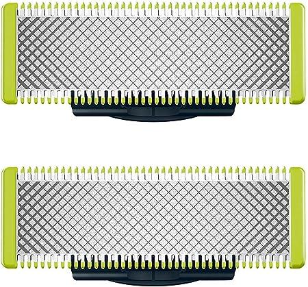 Dos cuchillas de repuesto para todos los modelos oneblade y oneblade Pro,Mantener la cuchillas hasta