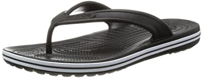 crocs Baya Flip, Unisex - Erwachsene Zehentrenner, Schwarz (Black), 36/37 EU