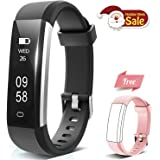 Holyhigh Fitness Tracker Activity Tracker, Waterproof Fitness Watch with Step Counter Sleep Monitor Pedometer Calorie Counter Smart Bracelet for Kids Women Men