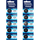 Panasonic CR2025 3V Lithium Battery 2PACK X (5PCS) =10