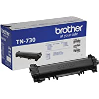 Brother Genuine Standard Yield Toner Cartridge, TN730, Replacement Black Toner, Page Yield Up To 1,200 Pages, Amazon…