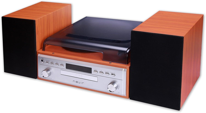 Nevir NVR-808VBUCS tocadisco - Tocadiscos (Tocadiscos de tracción ...