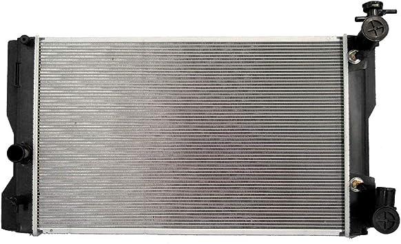 ECCPP Radiador + AC A/C Condensador de Repuesto para AC3686 13106 ...