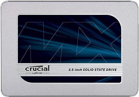 Oferta amazon: Crucial MX500 250GB CT250MX500SSD1(Z) Unidad interna de estado sólido-hasta 560 MB/s (3D NAND, SATA, 2.5 Pulgadas)