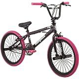 Mongoose FSG BMX Bike, 20' Wheels, Single Speed, Black/Pink