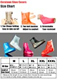 Waterproof Shoe Covers, Portable Rain Boots with