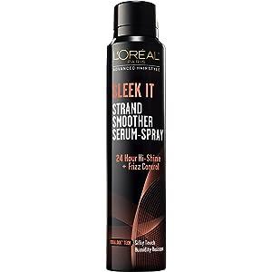 LOreal Paris Advanced Hairstyle Sleek It Strand Smoother Serum-Spray, 5.3 oz