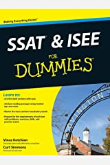 SSAT and ISEE For Dummies Paperback