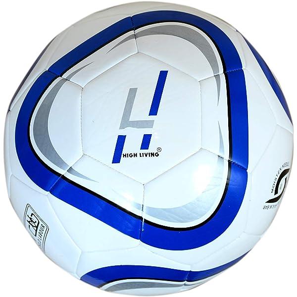Highlife Balón de fútbol de tamaño 5, Unisex Adulto, Azul, 23 x 23 ...