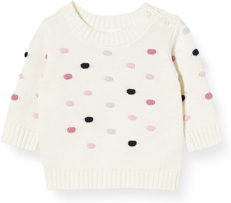 NAME IT Baby-M/ädchen Nbfbleta Ls Knit Pullover