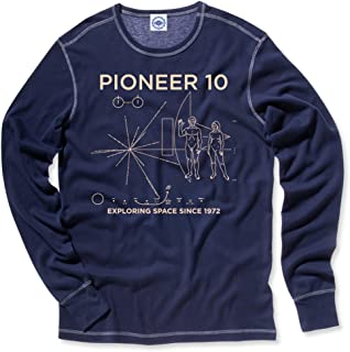 product image for Hank Player U.S.A. NASA Pioneer 10 Men's Thermal T-Shirt