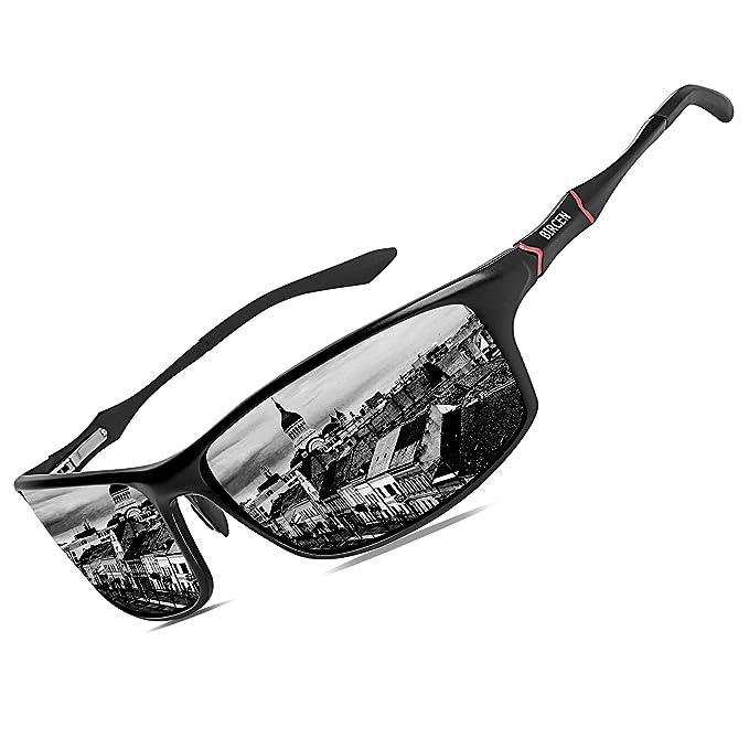 Amazon.com: Bircen - Gafas de sol polarizadas con protección ...