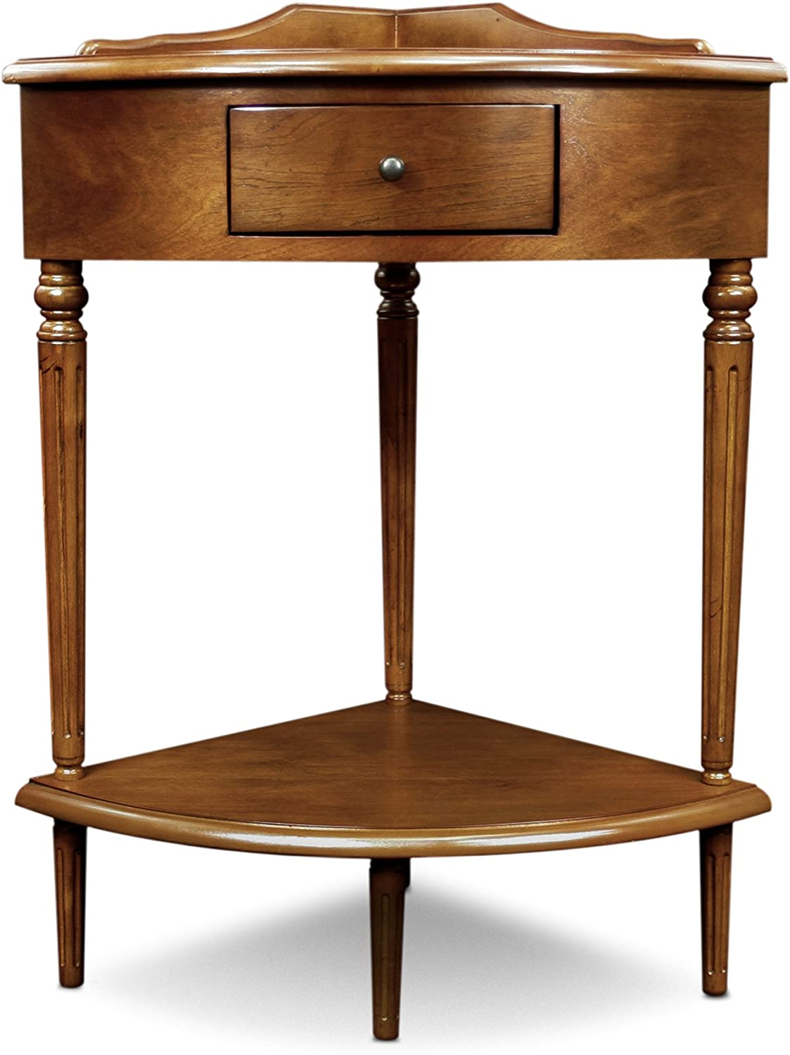 Leick Furniture Accent Table Hardwood Multi Color Amazon Co Uk Kitchen Home