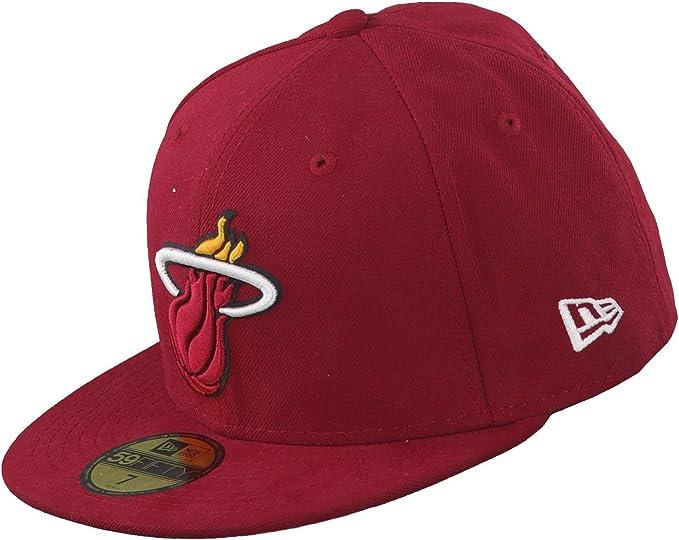 NBA LEAGUE Miami Heat schwarz New Era 9Forty Cap