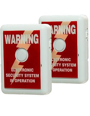 Alarma para ventana Defender con pegativa para disuadir robos, tecnología de sensor de