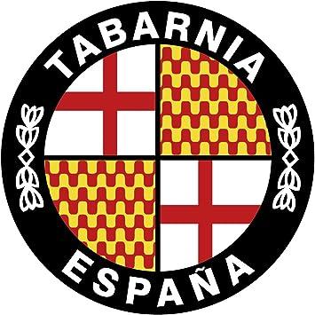 Artimagen Pegatina Círculo Bandera Tabarnia ø 50 mm.: Amazon.es: Coche y moto