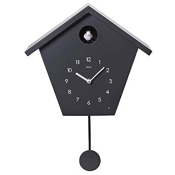 Cuco Clock Kuckucksuhr Schwarzwaldhaus Mit Pendel Wanduhr Design