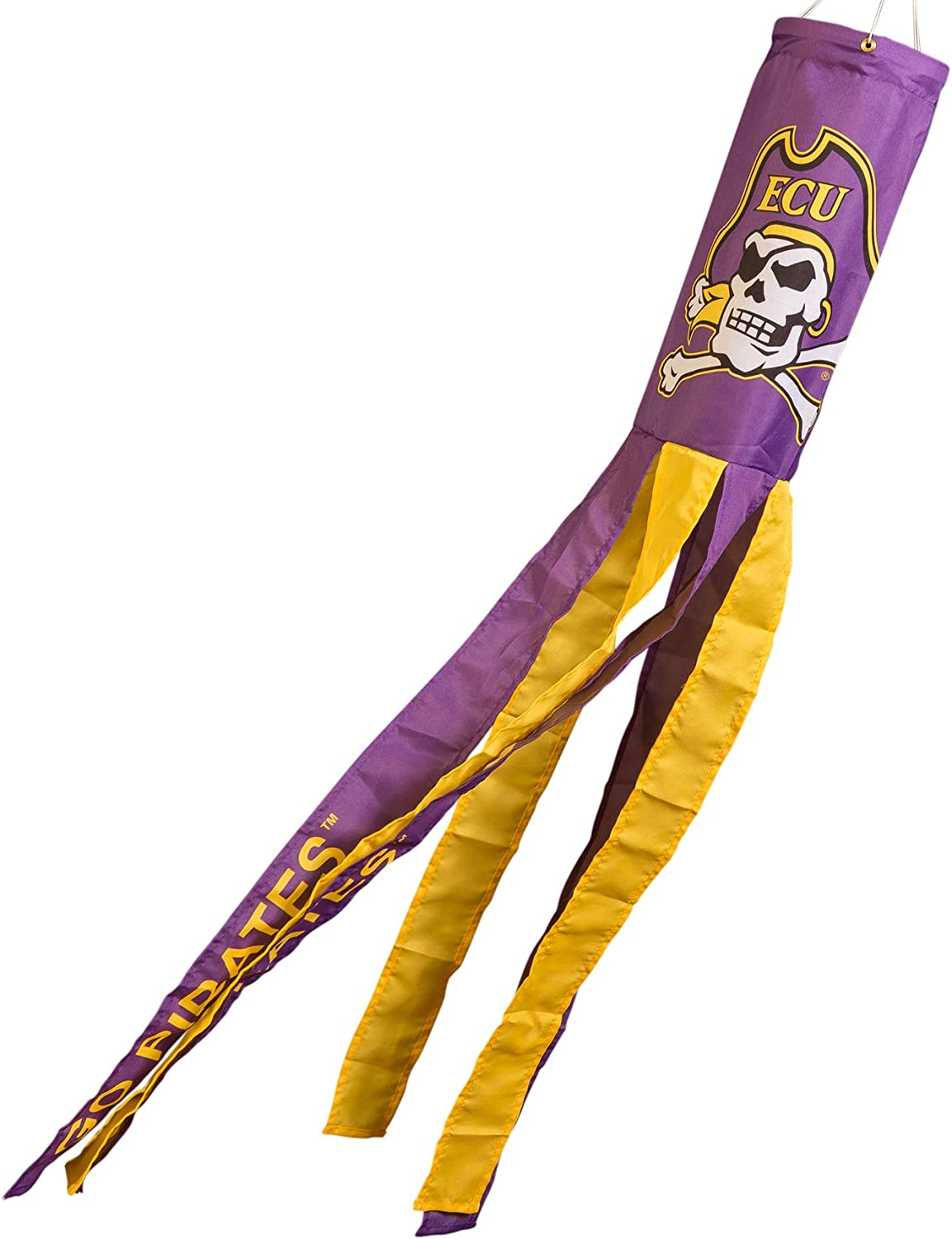 College Flags and Banners Co. East Carolina Pirates Windsock