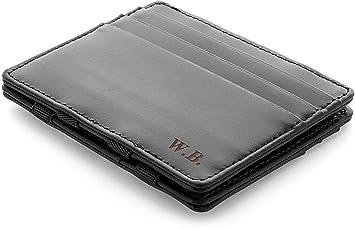 79638f3974670 JAIMIE JACOBS Flap Boy Slim - das Original - Magic Wallet mit Gravur  (Initialen oder