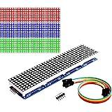 DAOKI MAX7219 Dot led Matrix MCU 8x32 Control LED Display Module Drive for Arduino Raspberry Pi 4 in 1