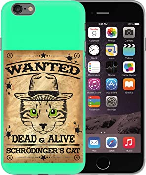 Schrodinger Cat Wanted Dead Or Alive_BEN1369 Protective Phone ...