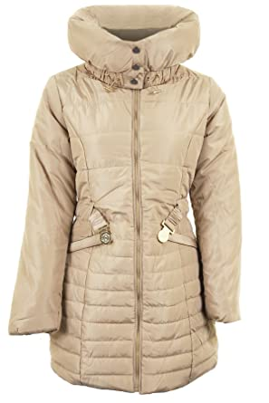 214f37f79 Unbranded by Fantasia Ladies Quilted Padded Belted Puffer Black ...