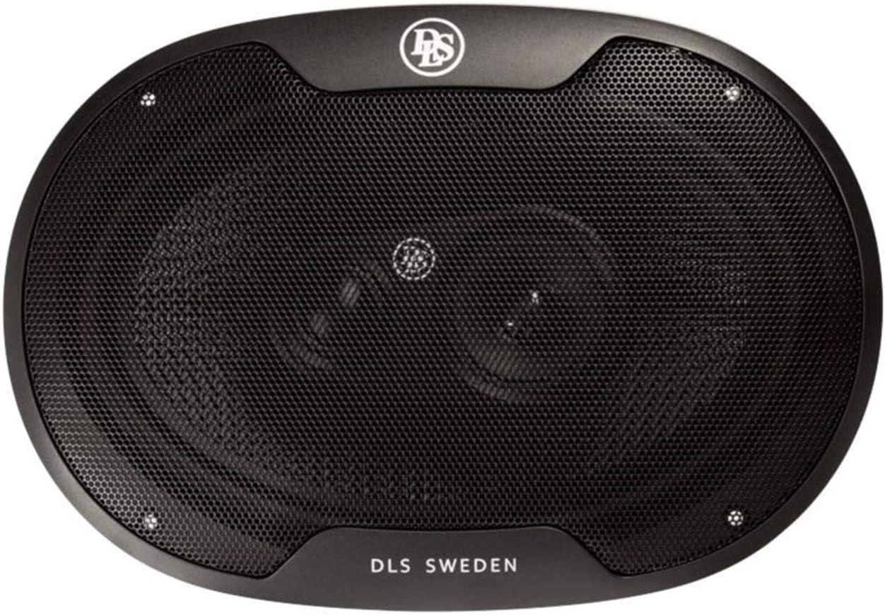 DLS Performance M369 240W 6 x 9 3-Way 4 Ohm Coaxial Car Audio Speaker Pair
