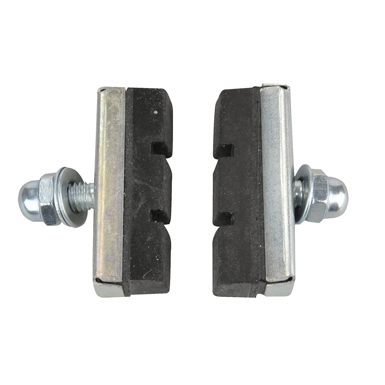 Fischer Adultos Cadena Lateral Freno, enroscables Aluminio BR-CT, Negro, One Size FISD6|#Fischer 85190