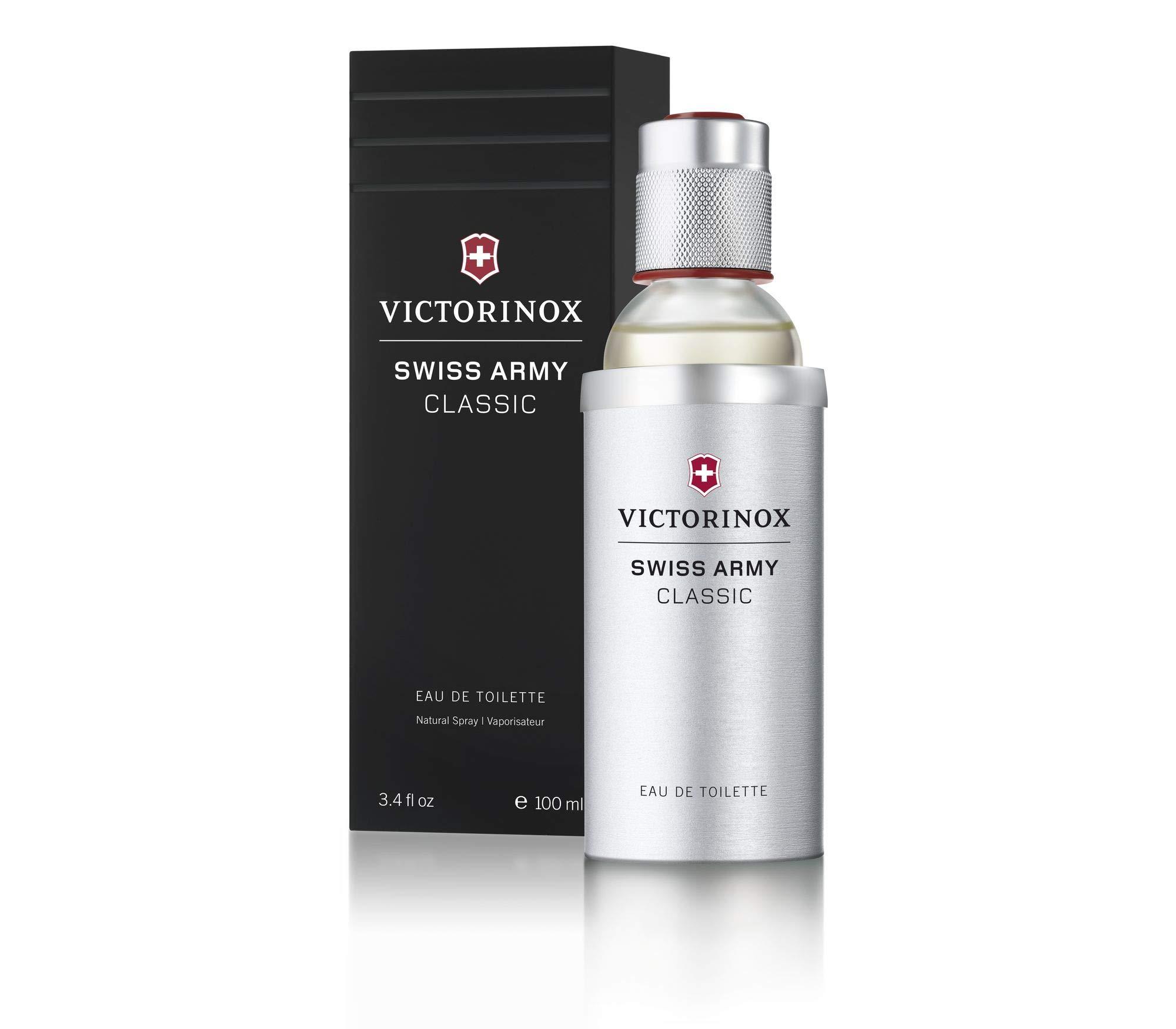Victorinox Swiss Army Eau de Toilette Spray for Men, 3.4 Ounce by Victorinox